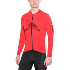X-Bionic Effektor Power Biking Shirt LS Full Zip Men Flash Red/Black